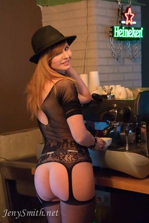 Jeny Smith Naked Barista